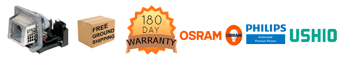 180day warranty, philips osram and ushio for sale